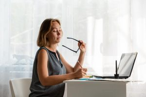 Woman Building her Freelance Business